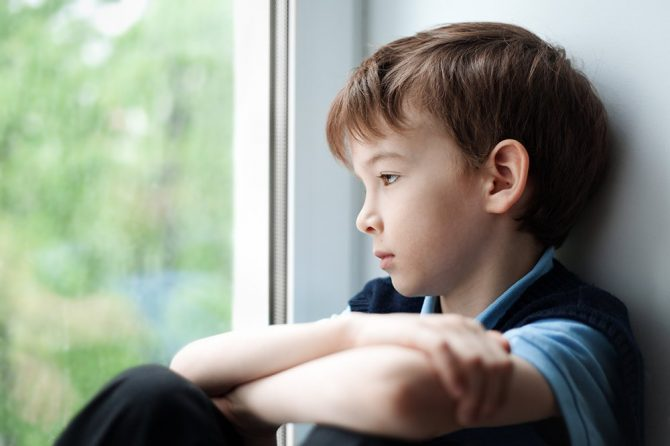 Depresia în cazul copiilor